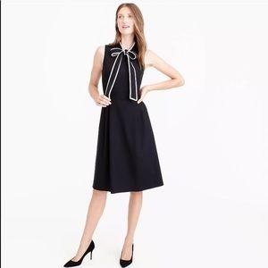 JCREW tie-neck bow dress